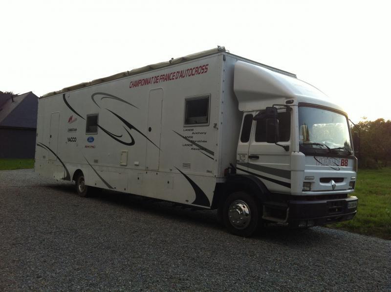 Poids lourds am nager camping car annnonce 110386 sur www - Transporter un frigo couche ...