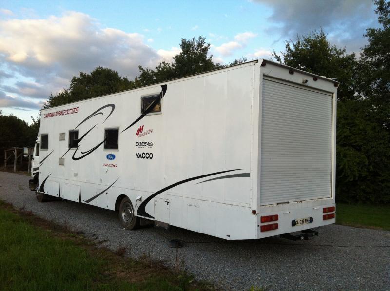 Salle De Bain Avec Wc : Camion renault poids lourds aménager camping car annnonce 111625 sur …