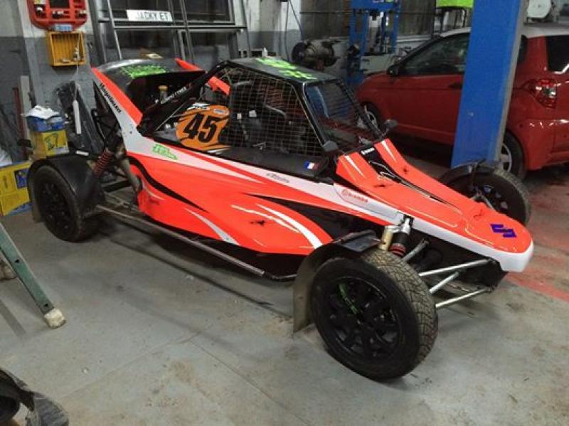 Buggy 1600 peters autosport ou echange maxi sprint 600 for Idee deco kart cross