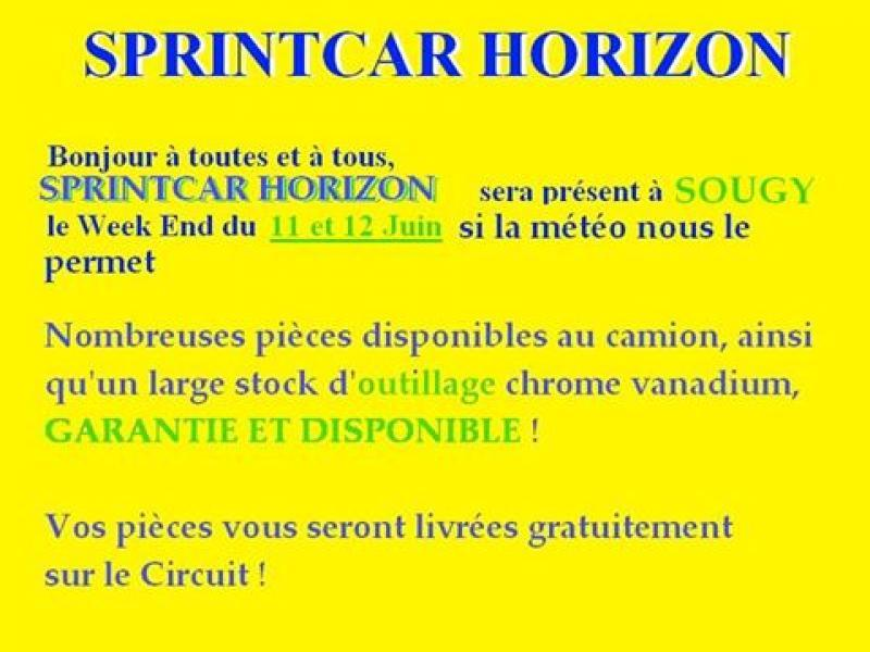 sprintcar horizon sera pr sent sougy le 11 12 juin annnonce 146835 sur www parc. Black Bedroom Furniture Sets. Home Design Ideas